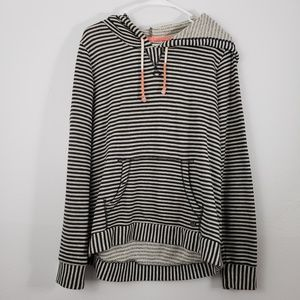 Billabong Stripe Hoodie Long Sleeve Sweater